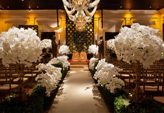 decoracao casamento presidente prudente:Arranjo divino do espaço da Constance Zahn no CasaModa Noivas desse