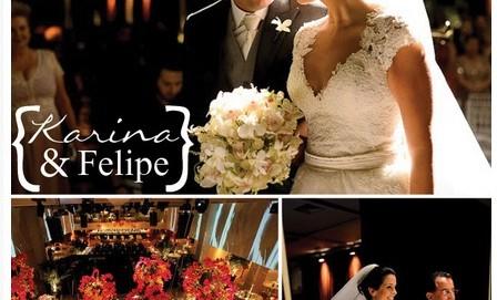 Casamento Karina & Felipe Por Nanna Martinez e Lívia Colucci